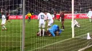 Словения- Россия Отборочный матч ЧМ 2010. ответная игра