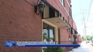 Population decline in North Carolina