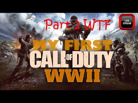 Call of Duty WW2 Stream [my first]  [ CRATE OPENING !!!] [ I suck ]Part 2 it GLITCHED !!!