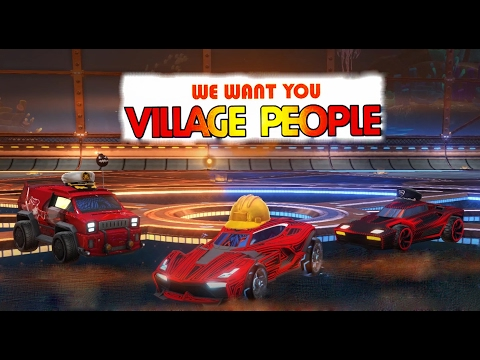 The Village People Play Rocket League