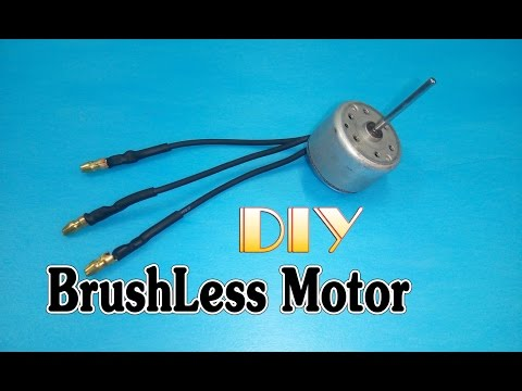How to make Brushless Motor from motor DVD, VCD player