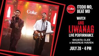 "Skusta Clee x Magnus Haven - Ang Liwanag"" (Live Performance)"