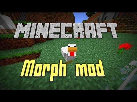 Minecraft - MORPH MOD/SHAPE SHIFTER! (Be the Mob!!!) | MODSHOW [1.6.4]