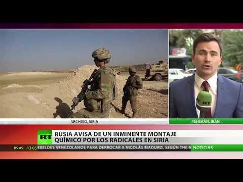 """""""La orden vendrá desde el extranjero"""": Rusia revela cómo será la provocación en Siria"""