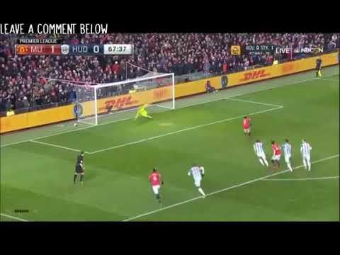 سانشيز يسجل أول أهدافه مع مانشيستر يونايتد في شباك هدرسفيلد