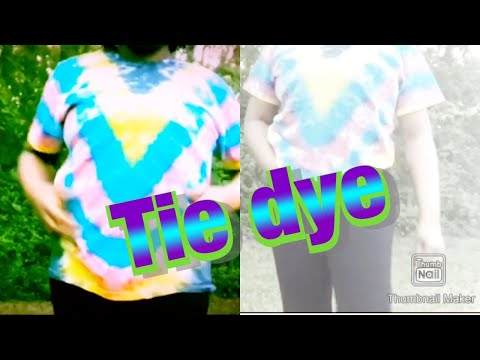 Cool Colorful  Summer Tie-Dye Design Tutorial [Kelsey. D] thumbnail
