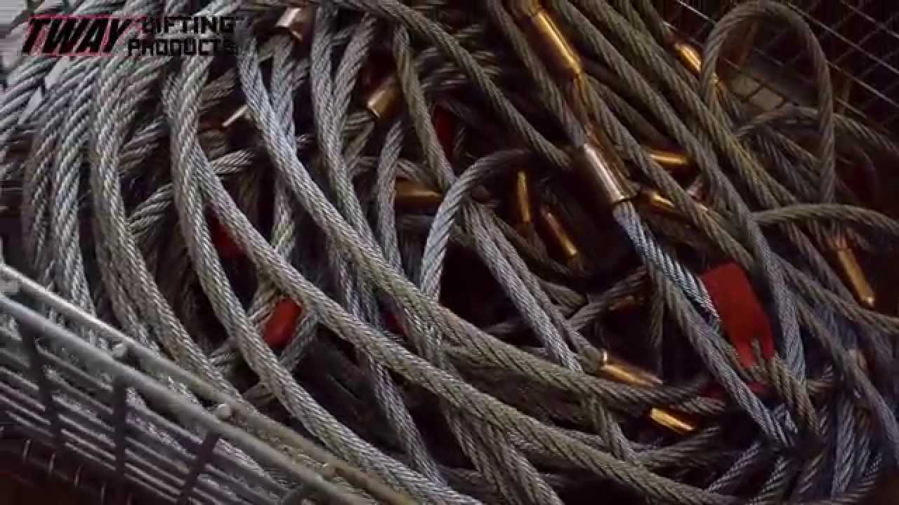 How it\'s Made: Wire Rope Slings - YouTube