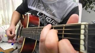 """Кавер. Обучение игры на гитаре. Песня Наутилус Помпилиус """" Я хочу быть с тобой"""""""