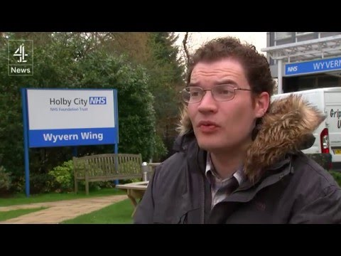 Acting with autism: Jules Robertson joins Holby City