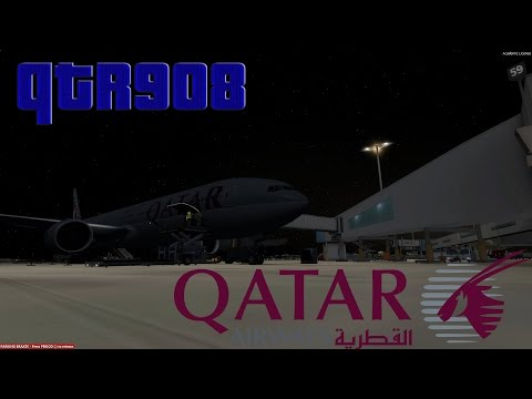 P3D V3 | VATSIM | Doha - Sydney | QTR908 | Full Flight