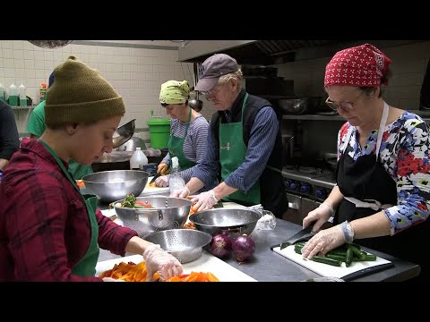 How This Soup Kitchen Keeps Going During Virus Shutdown