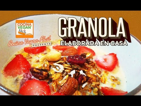 Granola elaborada en casa - Cocina Vegan Fácil (Reeditado)