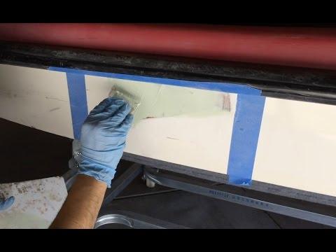 Jet Ski hull repair Using Fillers - Part 2
