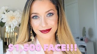 $1500 Full Face of My Favorite Luxury Makeup!