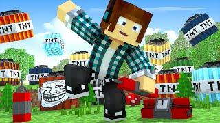 Minecraft : TNT PARA TROLAR SEUS AMIGOS ( Novas TNTS Minecraft )