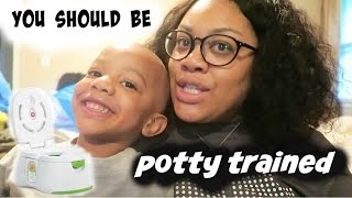 You Should Be potty Trained  |vlog#38
