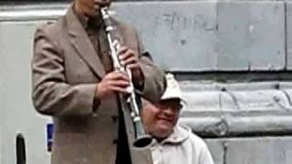Magic Music from a Gypsy Clarinet player