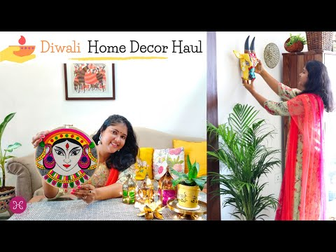 9 Tips on How To Shop for Diwali / My Diwali Home Decor Shopping Haul in Hindi