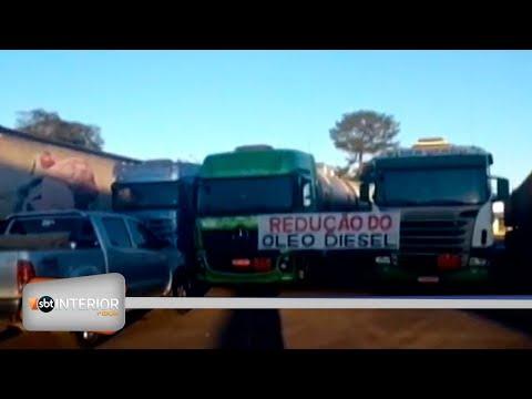 Protesto: caminhoneiros ficam mais de 30 horas em posto de combustíveis