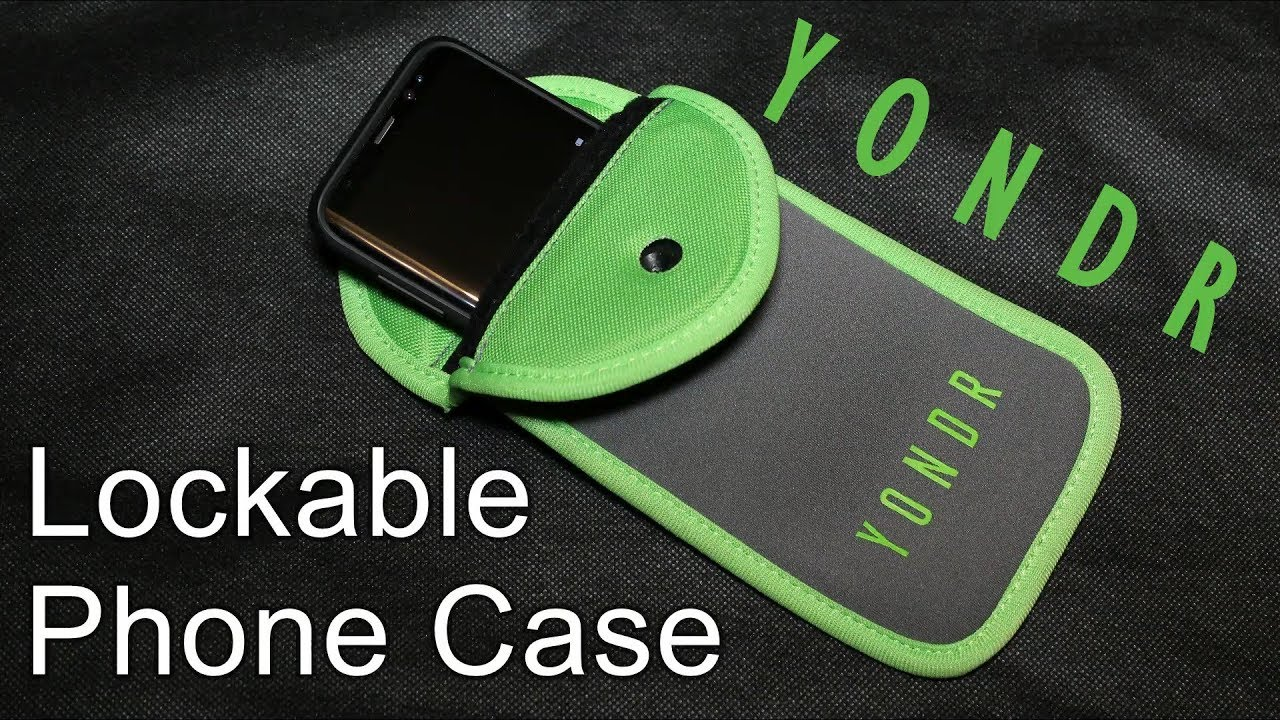 reputable site 081eb f0acc YONDR Lockable Phone Case / Pouch - How does it work? - Creating Phone Free  Zones