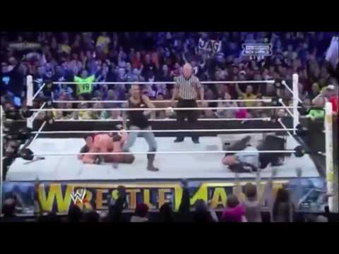 Wrestlemania 29 Highlights