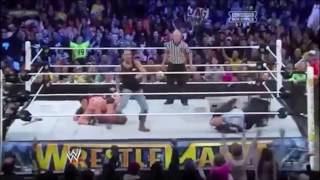 Wrestlemania 29 Highlights