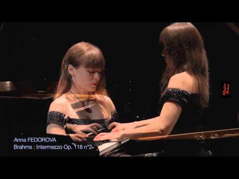 Johannes Brahms - Intermezzo in A major, Op. 118, No. 2 - Anna Fedorova