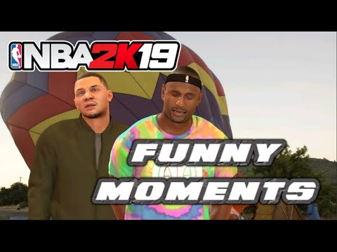 NBA 2K19 FUNNY MOMENTS (18 Point Comeback, Glitches, and More!)