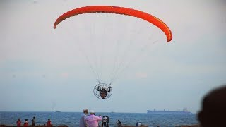 Paramotoring offers new high to adventure junkies in Visakhapatnam