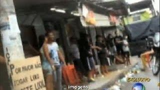 Veja a movimentação dos traficantes um dia antes da ocupação do Complexo do Caju