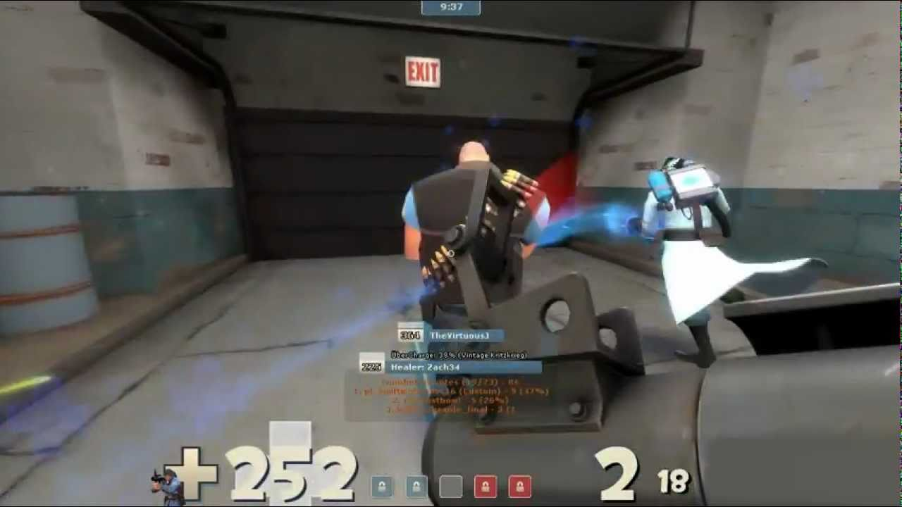 Medic Awareness Month: TF2 [Commentary] CP Freight - If medic awareness month were real.....that'd be cool.  Go tell a community member to make a hat about it, valve :D