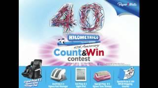 Kilometrico 40 Count & Win Radio Jingle (English)