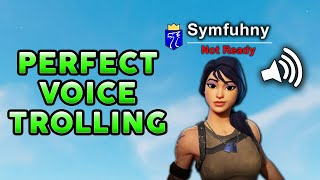 Symfuhny Has a Voice Impersonator Now! (Hilarious Fortnite Voice Trolling)