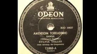 Sylvia  Telles - AMENDOIM TORRADINHO - samba de Henrique Beltrão - gravação de 1955
