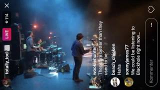 ryan adams the bruce springsteen teleprompter song seattle june 28th 2017