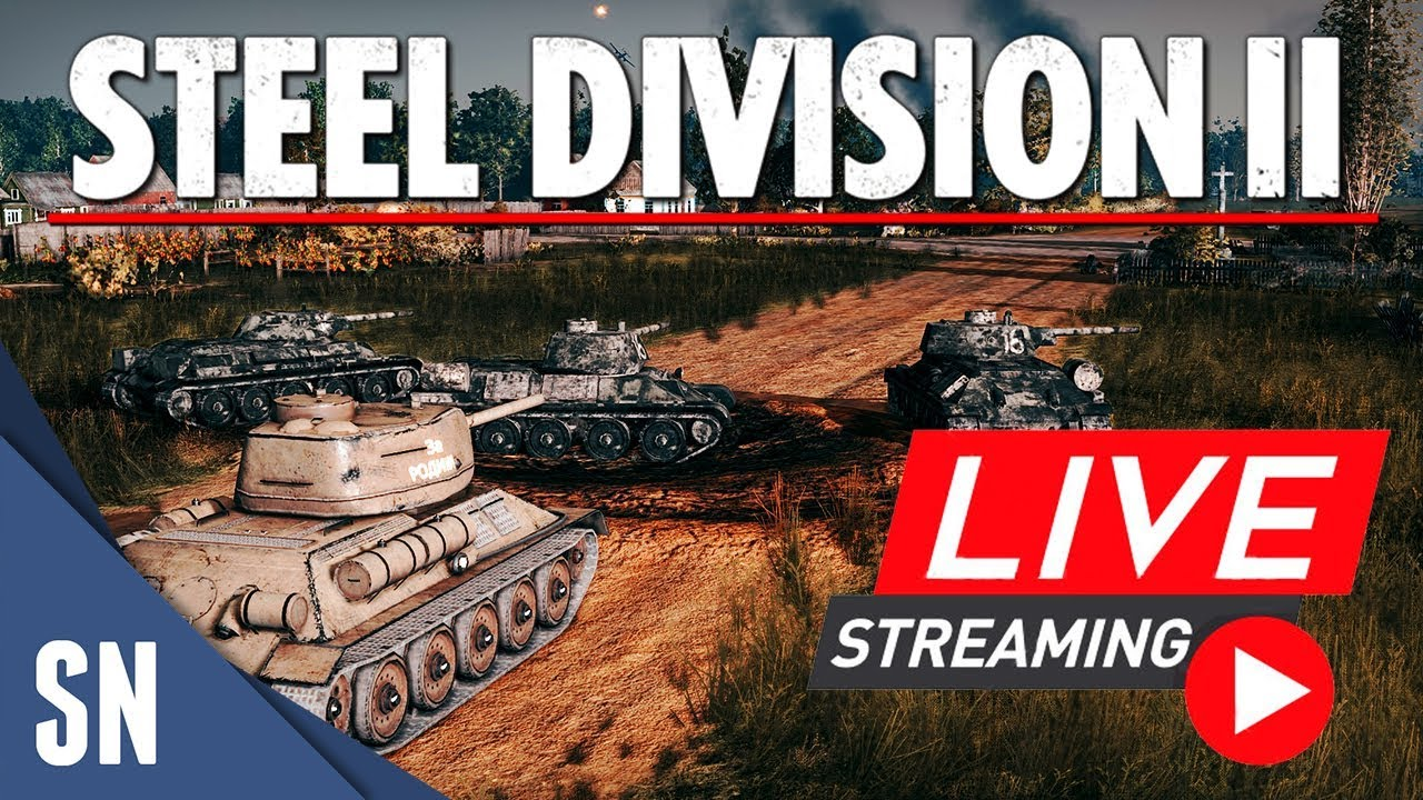 557 86 MB] 🔴 [LIVE] Steel Division 2 - Beta Multiplayer