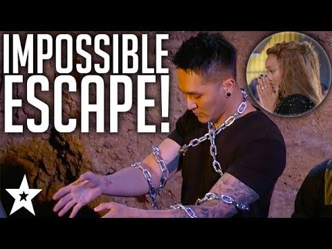 BURIED ALIVE!! Most Dangerous Audition On America's Got Talent 2017
