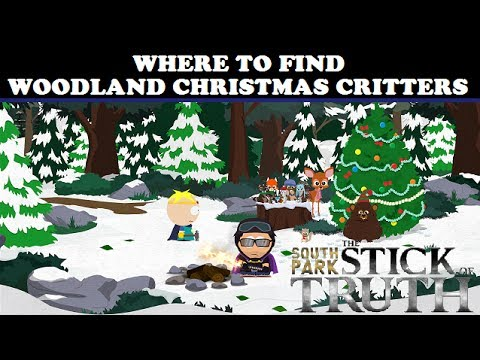 South Park: The Stick of Truth - Where To Find The Woodland ...