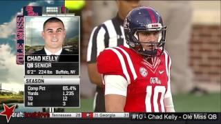 SEC Quaterback Chad Kelly - Numbers