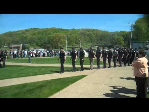 West Virginia State Police Training Academy Graduation, 153rd Basic Class, 2013