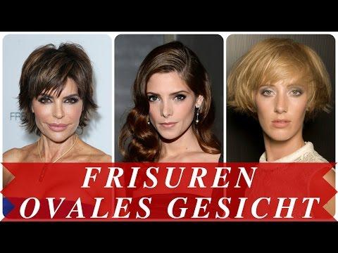 Frisuren ovales gesicht - YouTube