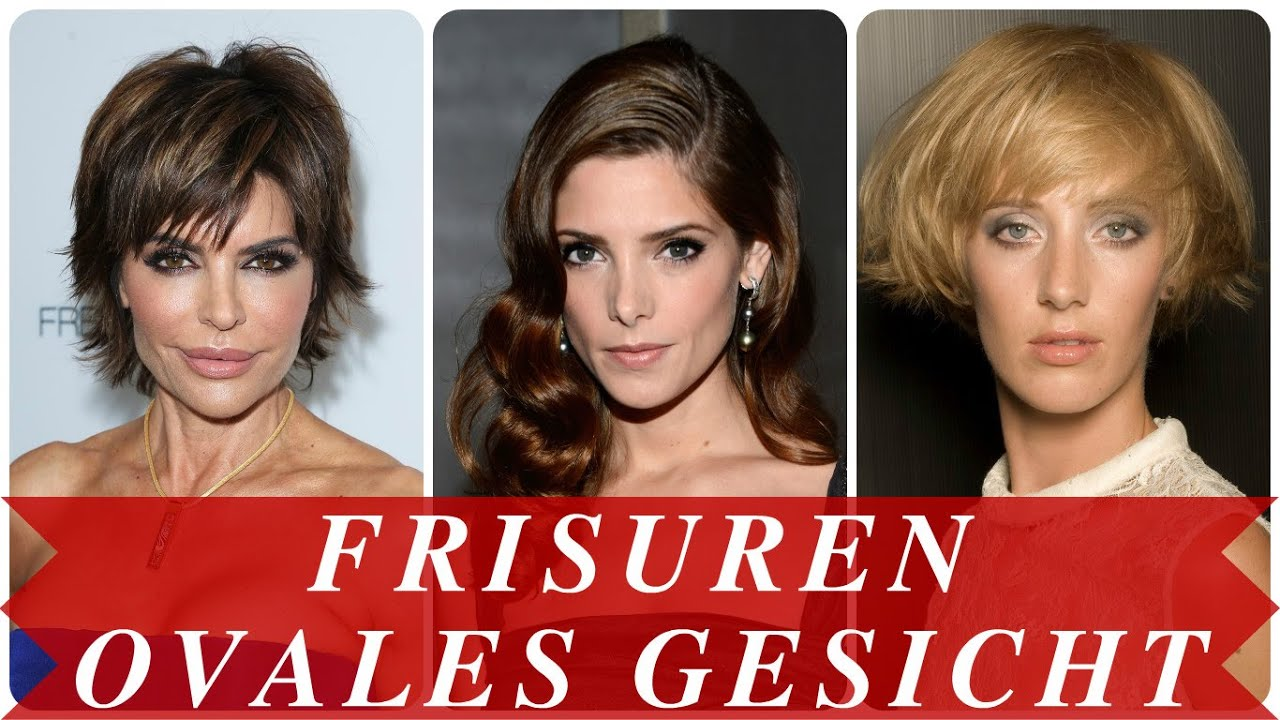 Frisuren Ovales Gesicht Youtube