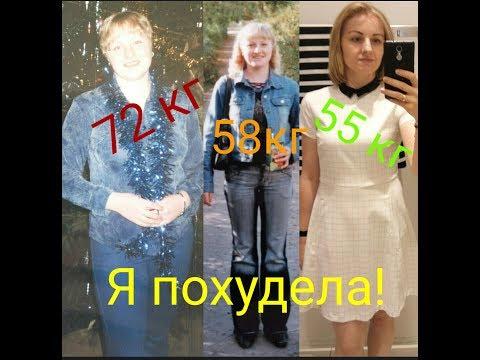 Как я похудела на 17 кг/мой опыт/Liubov2710