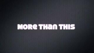 More than this - one direction karaoke - instrumental female version ( +1 )