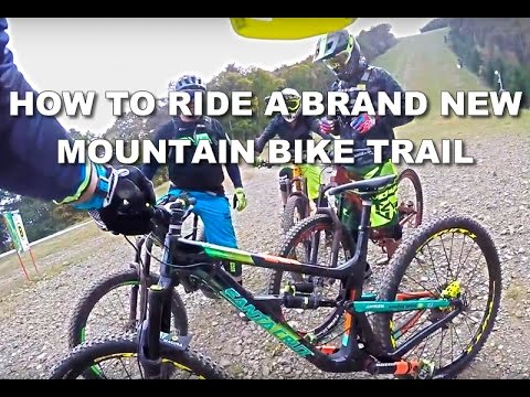 HOW TO ride a MOUNTAIN BIKE trail for the FIRST TIME - Fujimi bike park, Japan 2016 - CG VLOG #02