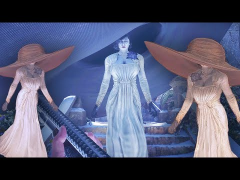 Lady Dimitrescu mods | It Keep's Getting BIGGER!?! | Resident Evil 8 Village mods