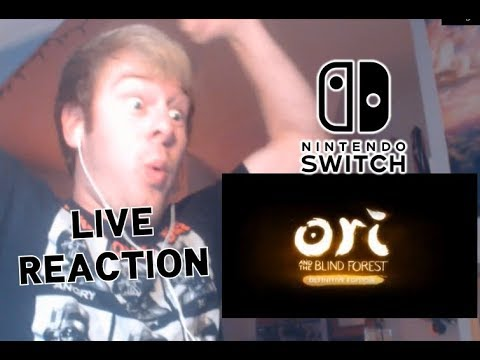 LIVE REACTION - Ori and the Blind Forest CONFIRMED for Nintendo Switch!