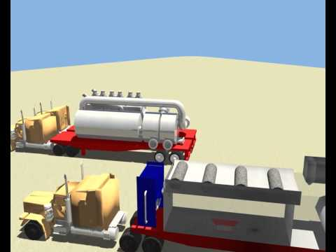 Mobile Hydraulic Fracturing Wastewater Treatment: Senior Design Project