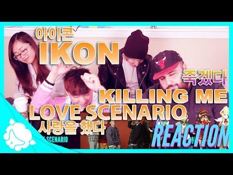 iKON - Love Scenario (사랑을 했다) & Killing Me (죽겠다) REACTION