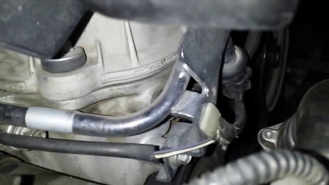 medium resolution of disconnect fuel line 2004 jaguar s type change upper and lower intake gasket youtube